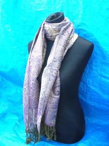 wholesale pashmina. gold-paisley-wool-shawl.