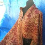 wholesale Pashmina Shawl. gold-thread-embroidery-paisley.