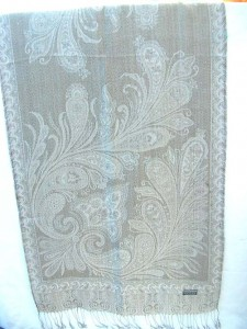 pashmina wool cashmere products.gold-thread-embroidery-shawl.