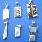 wholesale discount silver jewelry. Trendy fashion great quality fresh water seashell sterling silver pendant, randomly picked by our warehouse staffs.