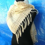 shawls for women. horizontal-layers-pashmina.