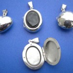 fashion jewelry manufacturer. Gifts idea, sterling silver locket pendant, randomly picked by our warehouse staffs.