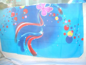 Wholesale pashmina scarf. polyester-colorful-printing-scarf.