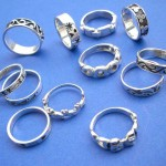 Silver Rings Earrings Bracelets Necklaces Wholesaler. Fashion sterling silver ring group in mix theme, randomly picked by our warehouse staffs.