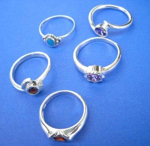 organics jewelry.Precious cubic zircoina 925. sterling silver ring, randomly picked by our warehouse staffs.