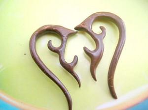 wholesale wooden earrings. tribal coconut wooden earring .