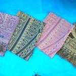 Silk Pashmina Shawls. woolen-shawls-stoles-metallic-gold.