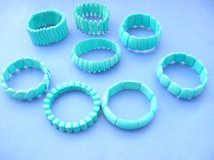 genuine turquoise gemstone jewelry stretch bracelets