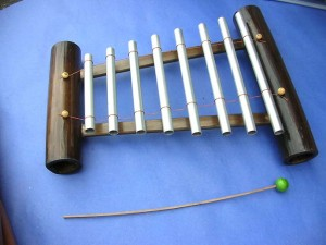bali metal pipe xylophone
