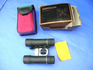 binocular fieldglasses, binocular telescopes incluse the case, cleaning clothing