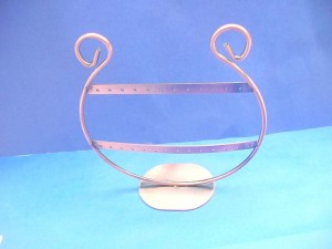 copper earring stand, earring holders jewelry display in round shape