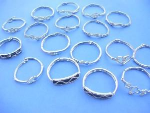 cz fashion bangles assorted designs