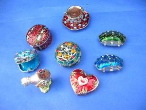 enamel cloisonne jewelry box