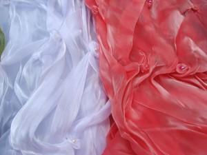 fashion polyester ruffle scarf