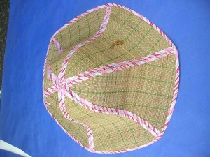 straw folding hat, made in China
