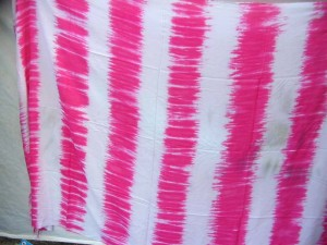 wholesale tie dye clothes pink and white stripes sarong