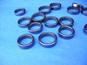 hematite rings, most of them are size 5 to 6