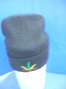 Pot Leaf Marijuana Leaves Beanie hats