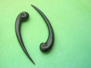 Organic Buffalo Hone Talon Hanger Plugs