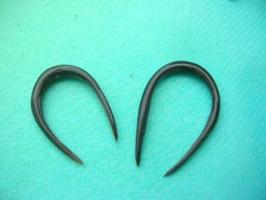 Horn Earring Jewelry U-Hoops