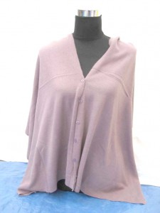 knitted shawls with buttons, thick and warm
