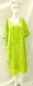 Empire waiste long kaftan dress rayon clothing from Bali Indonesia