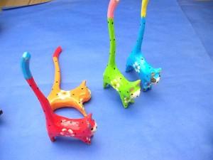 mini long tail cats set