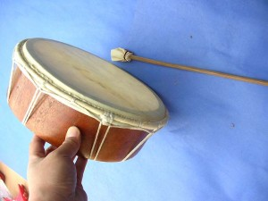 native handheld drum made in Bali Indonesia