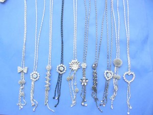 fashion long necklaces mixed designs