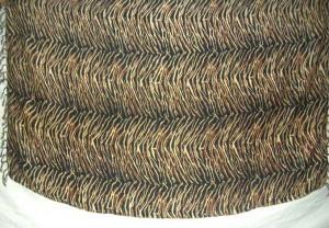 animal skin sarong