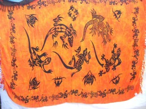 summer dresses beach coverup orange geckco tattoo design