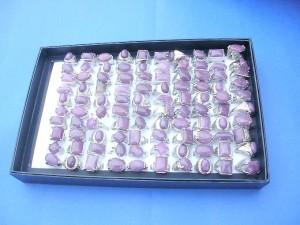 large purple amethyst gemstone rings