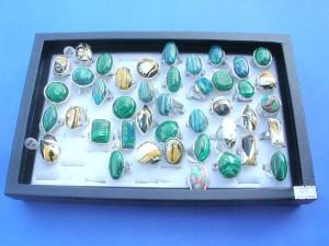 large gemstone rings mix