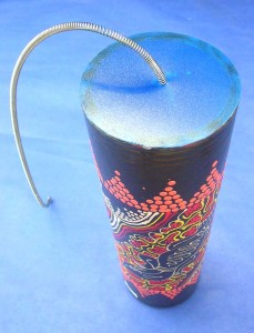 Bali handmade handpaited thunder-maker drum