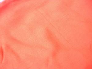 solid plain sarong orange red