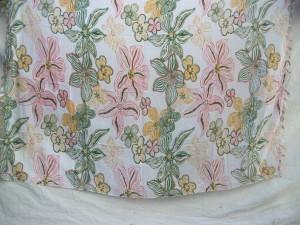 garden floral design sarong