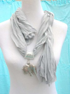 necklace scarves wholesale, assorted designs of pendants made of polyester but feels like soft cotton 70 inches long (include tassels), 18 to 20 inches wide mixed colors randomly picked by our warehouse staffs