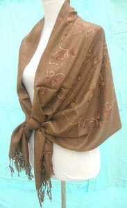 sequins-pashmina-shawl-1b-embroidery-plain-brown
