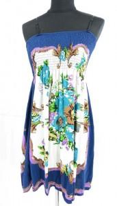 c495-floral-tube-top-mini-dress-c