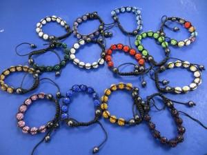 hematite-crystal-disco-ball-bead-macrame-bracelet-2a