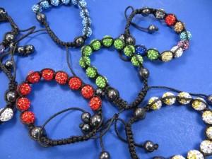 hematite-crystal-disco-ball-bead-macrame-bracelet-2b