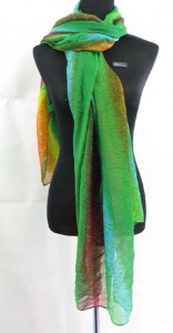 light-shawl-sarong-29  half seethrough tiedye green blue pink shawls wraps sarong pareo 100% polyester, soft cotton feel Approximately 68 to 70 inches long, 42 to 44 inches wide  one color one design only