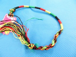 handmade friendship thread bracelets rasta jewelry bulk wholesale lot 11 inches in length