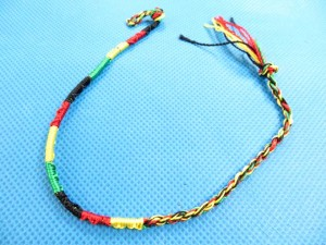 buy rasta friendship bracelet 11 inches in length