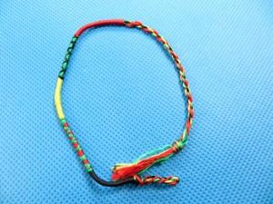 Rasta Reggae Rastafari Friendship Bracelets 11 inches in length