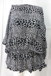 sleeve-elastic-waist-caftan-43g