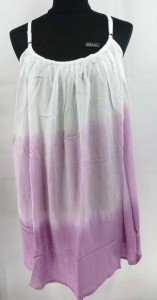 Tie dye summer wear rayon sundress. Made in Bali Indonesia. Approximate 37 inches in length. One size fits all - S M L (for US Size 6, 8, 10, 12, 14)