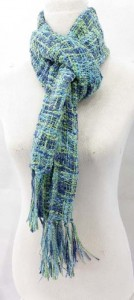 pastel color unisex fashion scarves, polyester yarn, soft wolly feel  74 inches long (include tassels), 12 inches wide