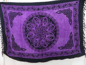 purple celtic sarong