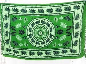 sarong sarung batik green elephant